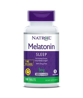 Natrol Melatonin Time Release 5 mg Product
