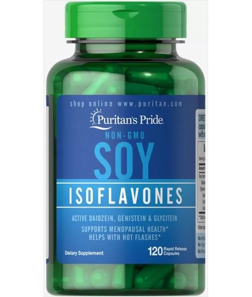 Non-GMO Soy Isoflavones 750 mg