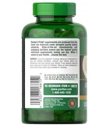 puritan's pride Coconut Oil 1000 mg Product Label