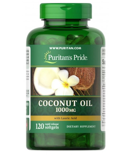 Coconut Oil 1000 mg 08/2021