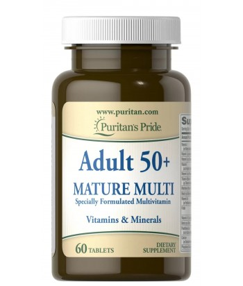 puritan's pride Adult 50+ Mature Multivitamin Product