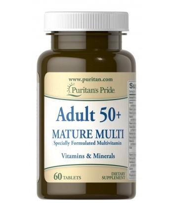 منتج فيتامينات متعدده للبالغون فوق ال ٥٠ عام من بيوريتانز برايد
