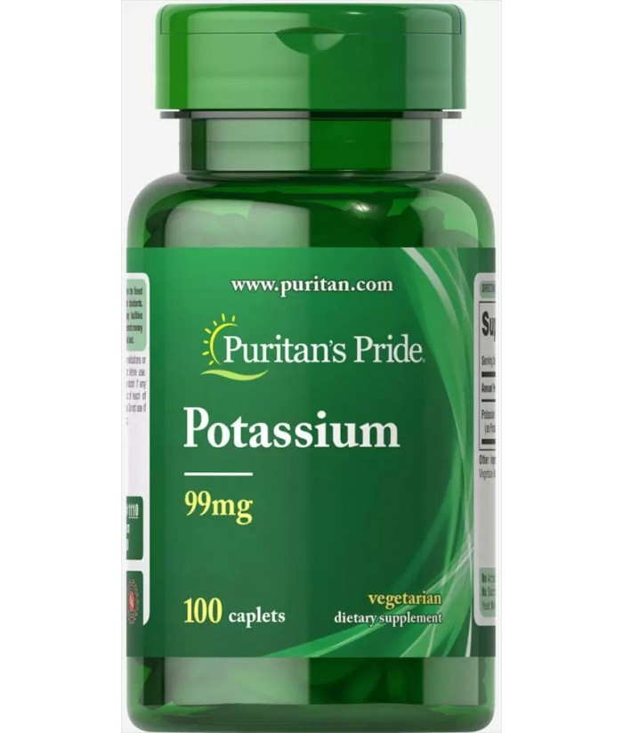 Puritan's Pride Potassium Product