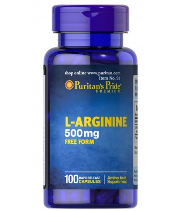 منتج لـ-أرجينين 500 مجم من بيوريتانز برايد