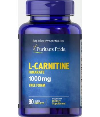 Puritan's Pride L-Carnitine Fumarate 1000 mg Product