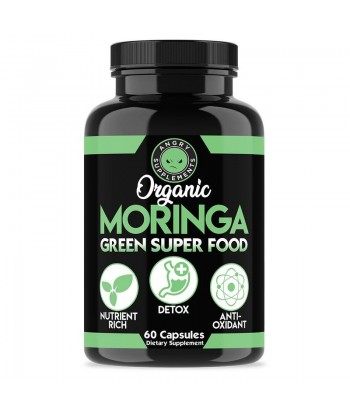 Angry Supplements ORGANIC MORINGA, GREEN SUPER FOOD Product