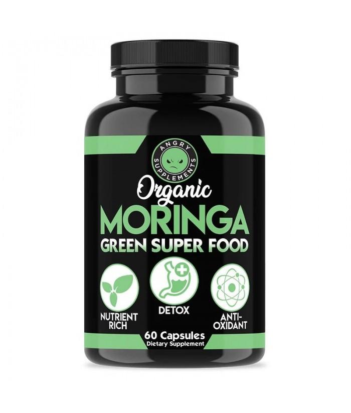 Angry Supplements ORGANIC MORINGA, GREEN SUPER FOOD Product