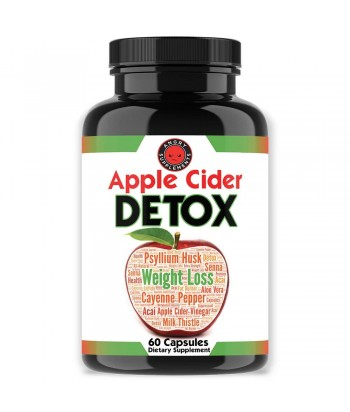 Angry Supplements APPLE CIDER DETOX Product