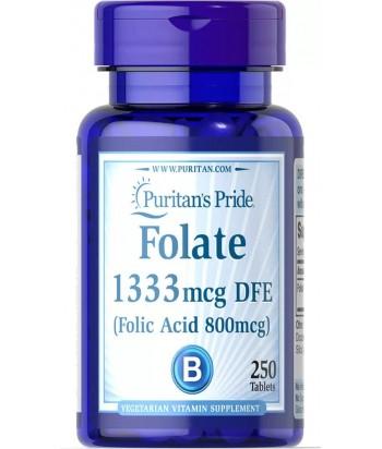 منتج حمض الفوليك 1333 ميكروجرام DFE من بيوريتانز برايد