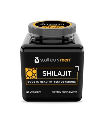 youtheory Men's Shilajit 250 mg 60Caps Product