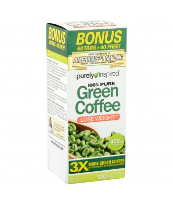 Purely inspired Green Coffee,100 Tablets Product