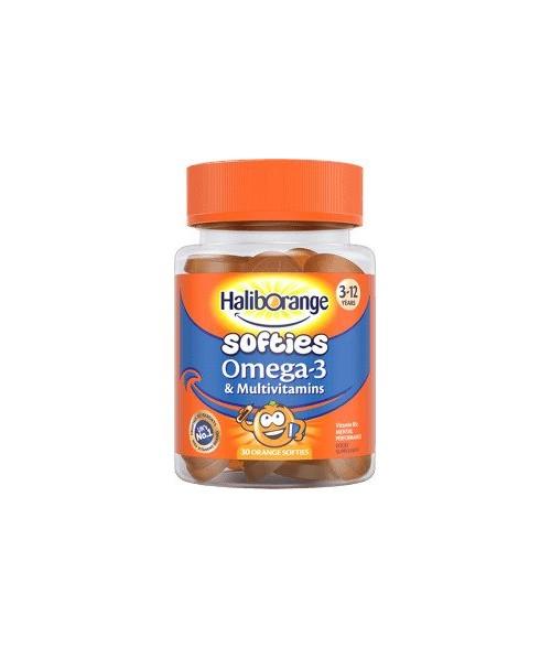 Omega-3 and Multivitamins Orange Softies 30 Orange Softies 11/2021