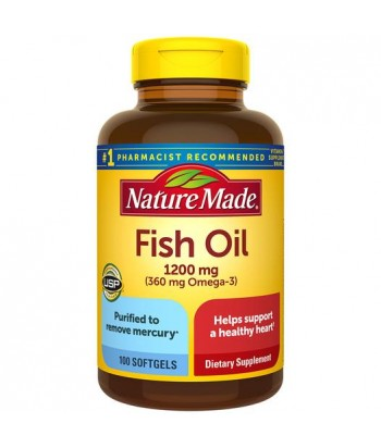 Nature Made Fish Oil Omega 3 - 100 Softgels Product