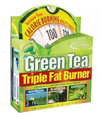 Green Tea Triple Fat Burner, 30 Soft-Gels