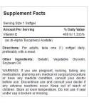 Vitamin E 1,000 IU - 100 Tab