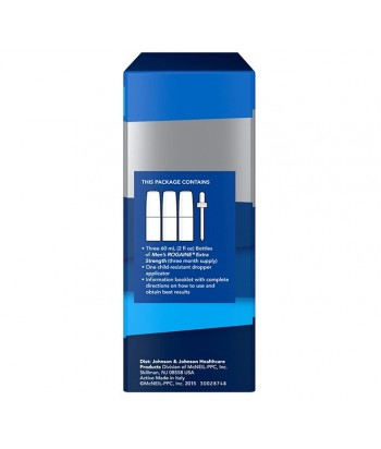 MEN'S ROGAINE SOLUTION 5% - 3 month supply