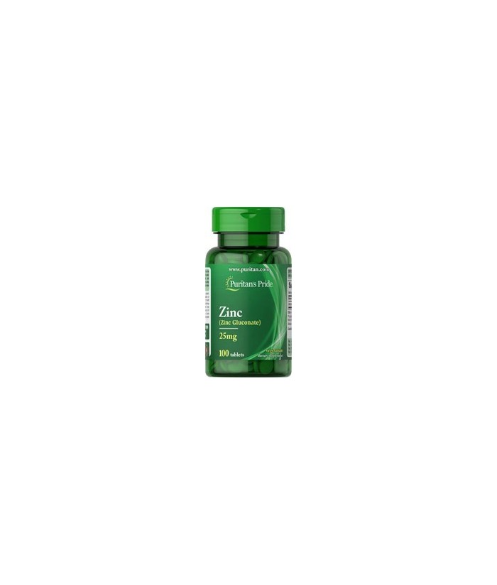 Zinc Gluconate 25 mg - 100 tablet
