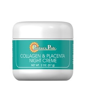 Natural Collagen and Placenta Night Creme - 57 gm