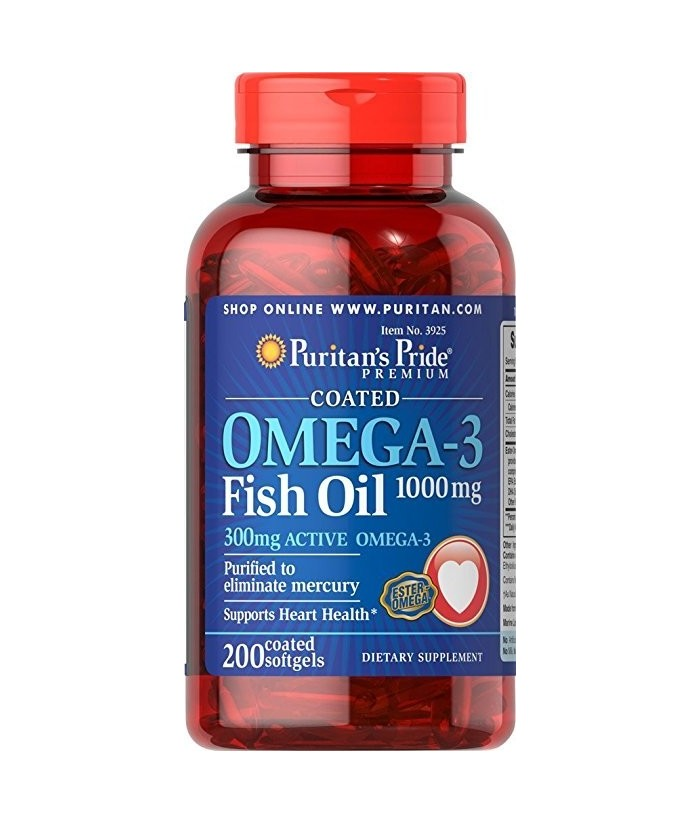 Omega 3 fish oil 1000 mg 200 softgels the health shop for Fish oil for toddlers speech delay
