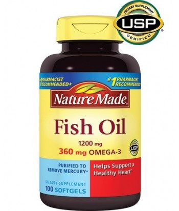 Nature Made Fish oil  Omega 3  - 100 cps