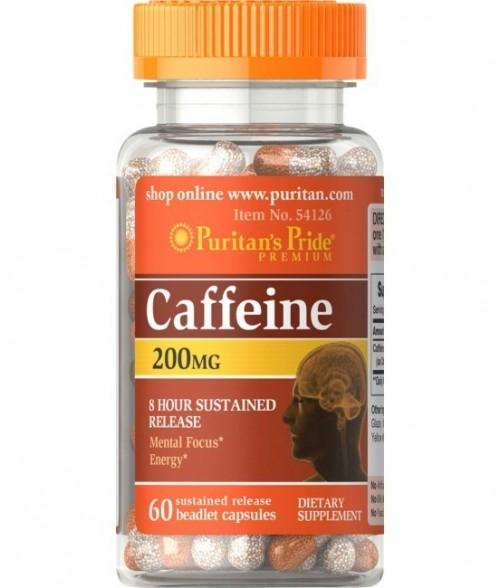 Caffeine 200 mg - 60 cps