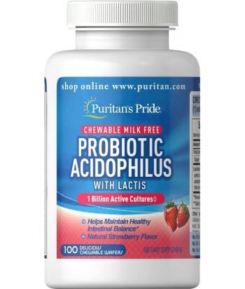 Probiotic 1 Billion - strawberry chews