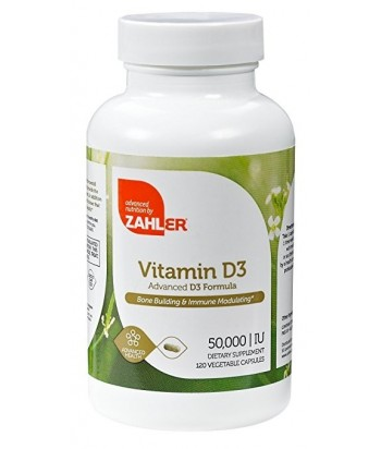 Vitamin D3 50,000 IU (Once per week tablet) - 120 tbs