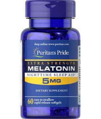 Melatonin 5 mg - 60 Tablet