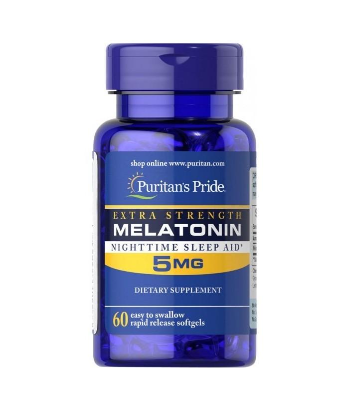 Melatonin 5 mg - 60 Tablet