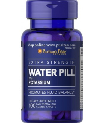 puritan's pride Waterpill with potassium 100 tbs Product