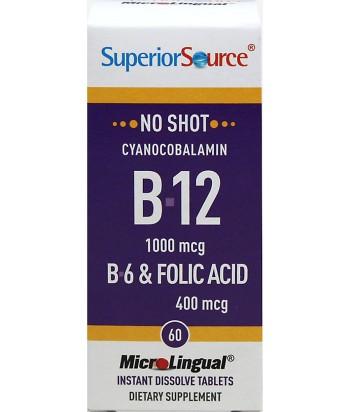 B12 و B6 حمض الفوليك