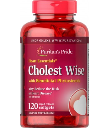 Puritan's Pride Heart Essentials Cholest Wise with Plant Sterols Product