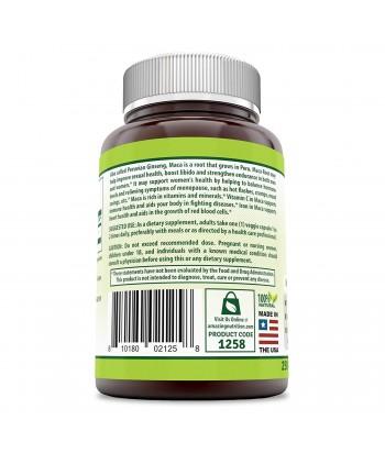 ملصق منتج ماكا 500 مللى جرام للسيدات من هيربيل سيكريت