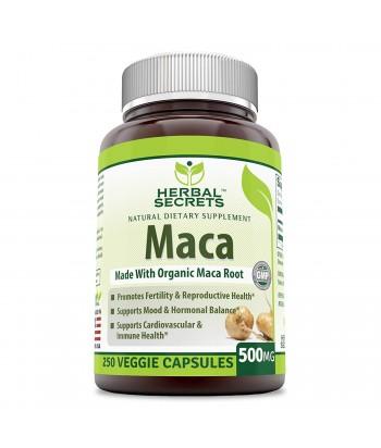 منتج ماكا 500 مللى جرام للسيدات من هيربيل سيكريت