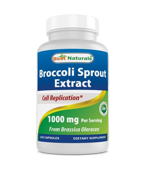Broccoli Sprout Extract 1000 mg 120 Capsules